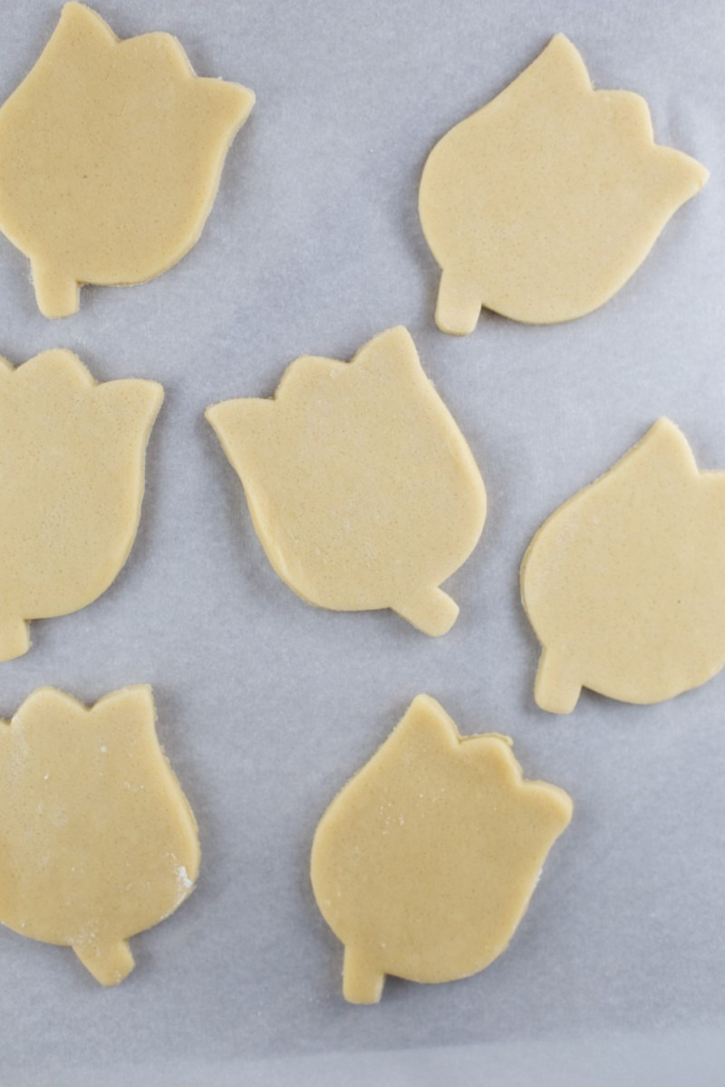 Low Sugar Flower  Sugar  Cookies {dairy Free Recipe}
