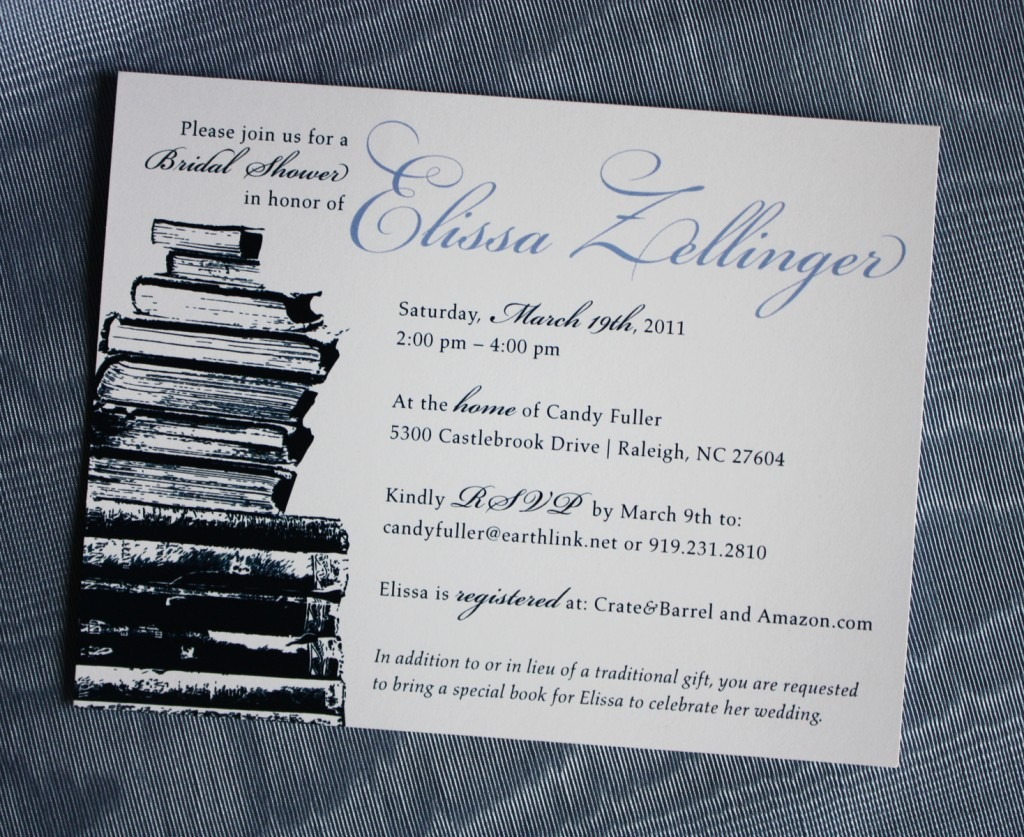 Luxury Book Themed Party Invitations 13 For Your Picture Design