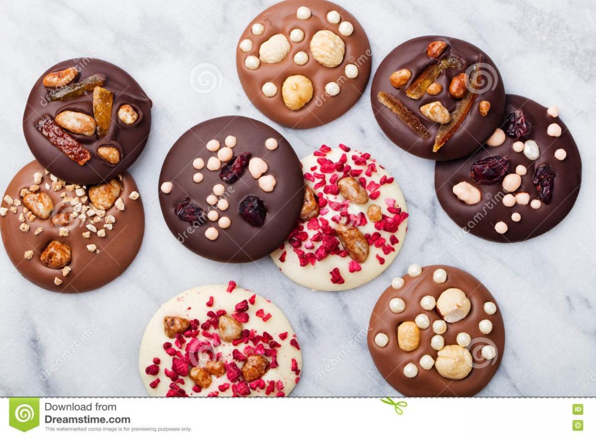 Luxury Handmade Chocolate Mediants, Cookies, Bites, Candies