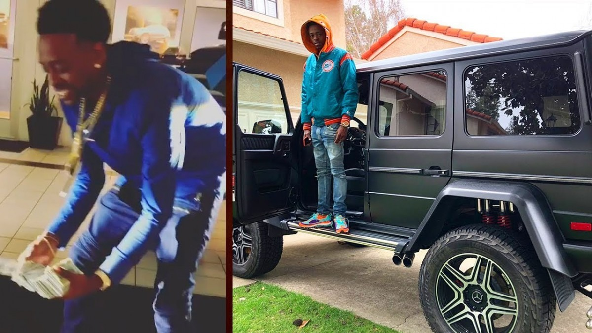 Oakland Rapper Cookie Money  Purchases A $250,000 G Wagon  (says