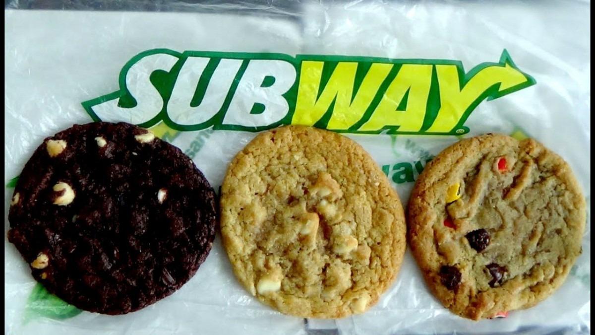 Subway Cookies [m&m's , Macadamia Nut , Double Chocolate Chip
