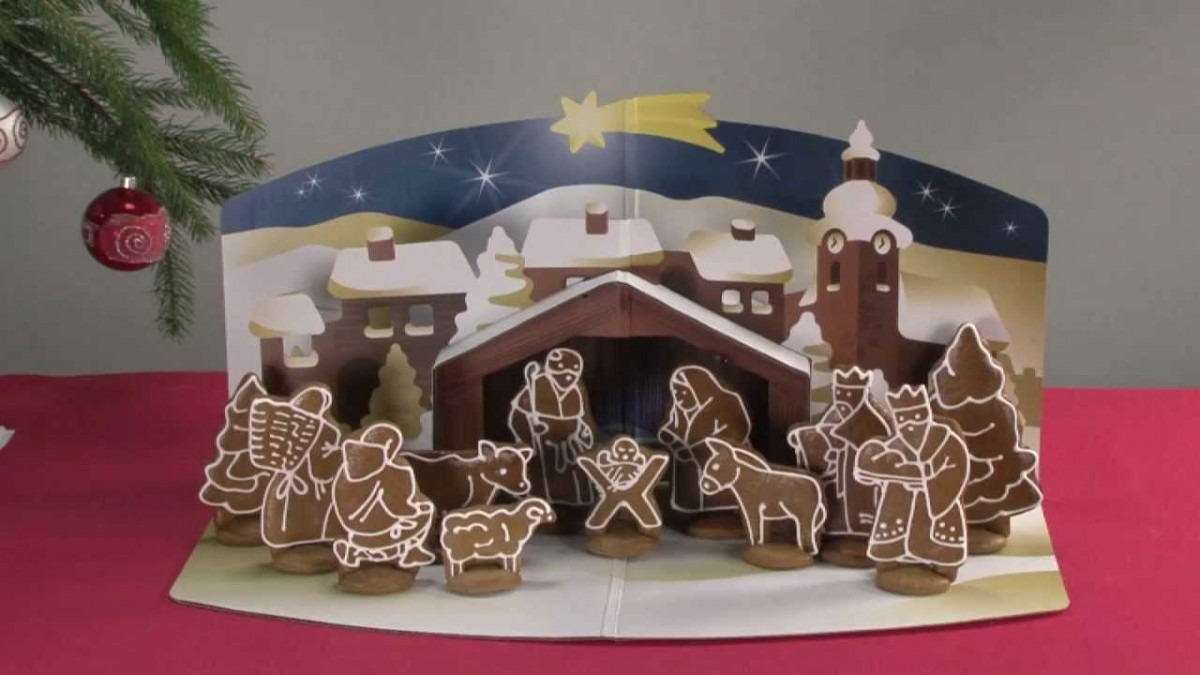 Gingerbread Christmas Nativity Scene Tescoma DelÍcia, Set Of