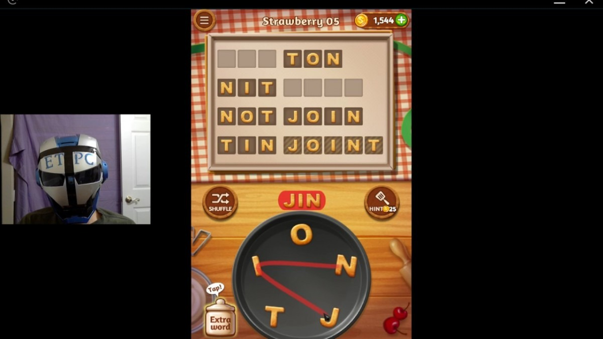 Word Cookies Strawberry 05 Solved