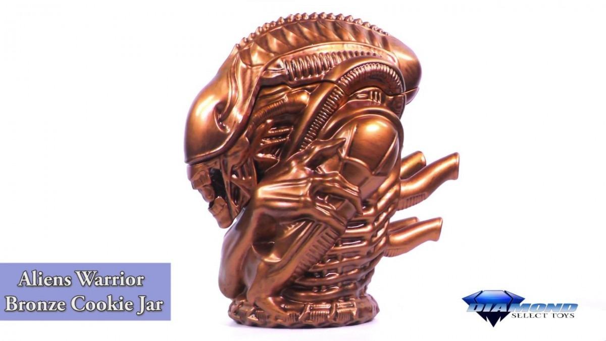 Alien Bronze Xenomorph Cookie Jar Thinkgeek Exclusive Unboxing +