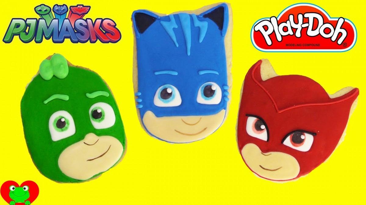 Pj Masks Microwave Play Doh Surprise Cookies