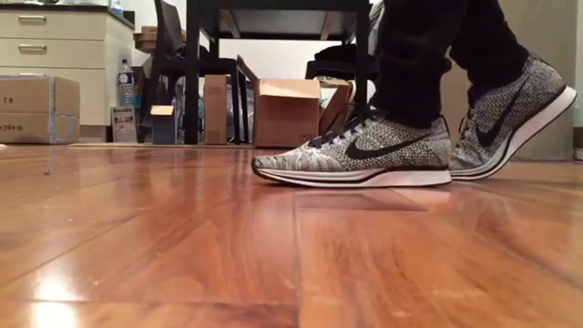Nike Flyknit Racers 2016 'cookies And Cream' Quick On Feet Look