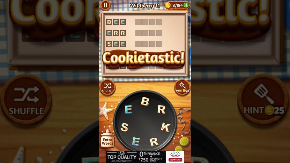 Word Cookies Wildberry 11