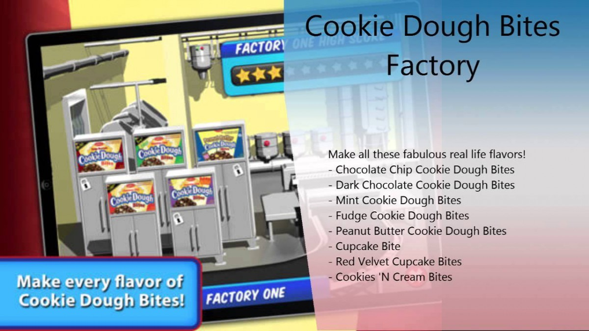 Cookie Dough Bites Factory Iphone & Ipad Review