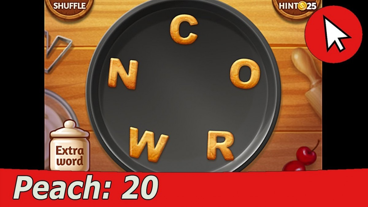 Word Cookies Peach 20 Answers Guide