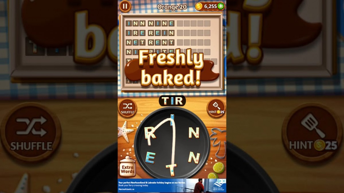 Word Cookies Orange 20
