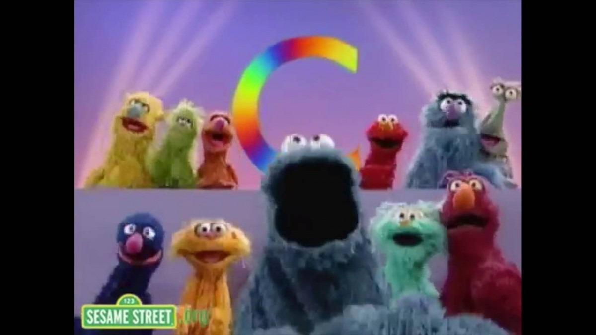 Sesame Street  C Is For Cookie  2 With Cookie Monster (live At The