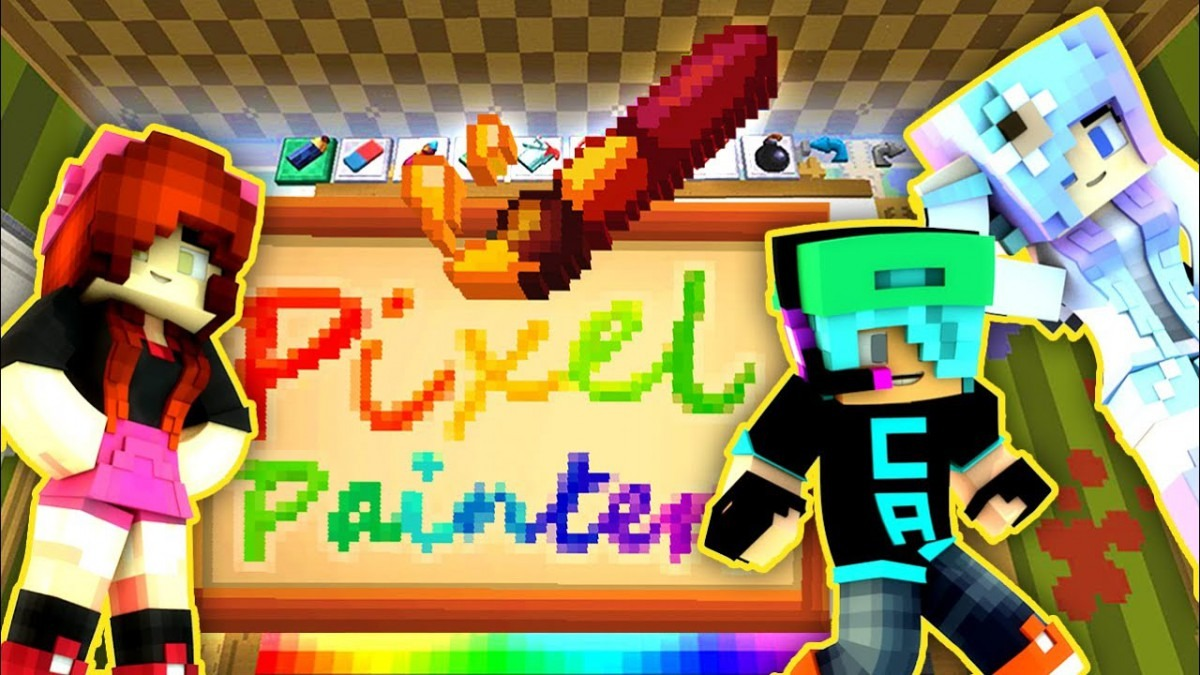 Pixel Painters With Chad & Cookie Swirl C