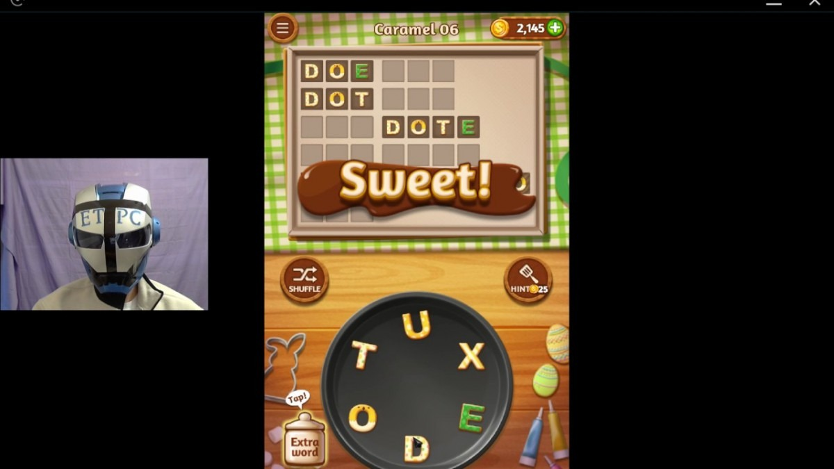 Word Cookies Caramel 6 Solved