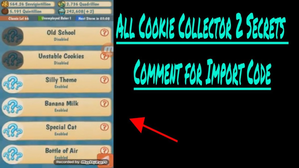 Cookie Collector 2 All Secrets!