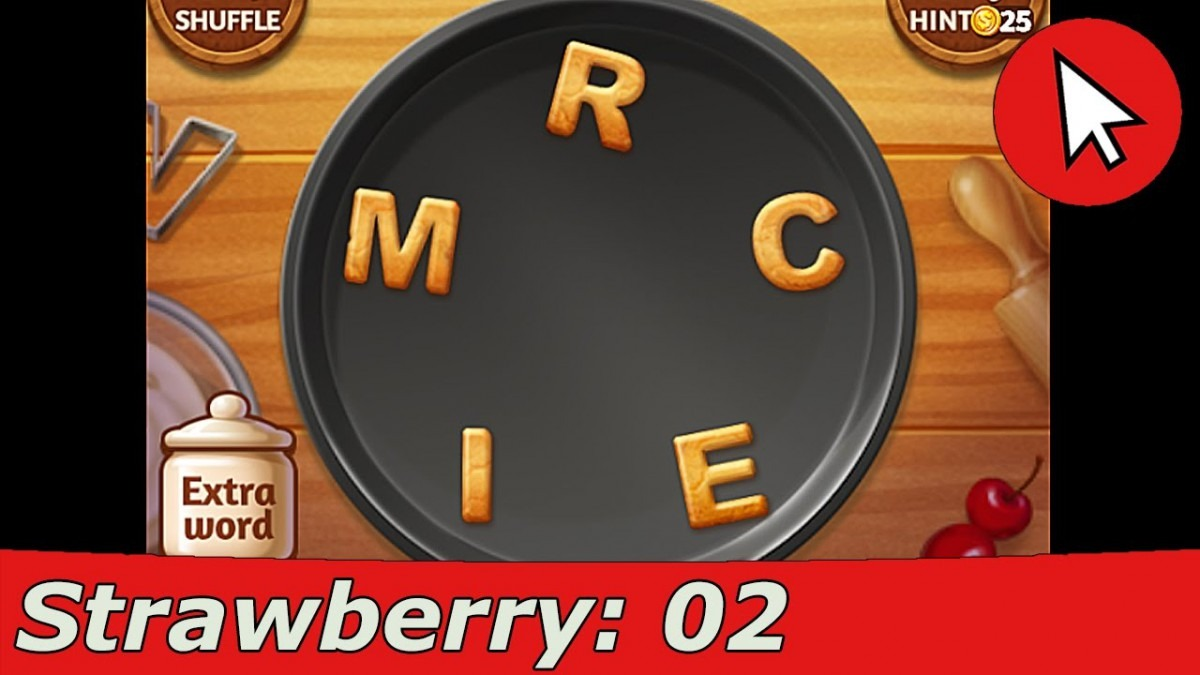 Word Cookies Strawberry 2 Answers Guide