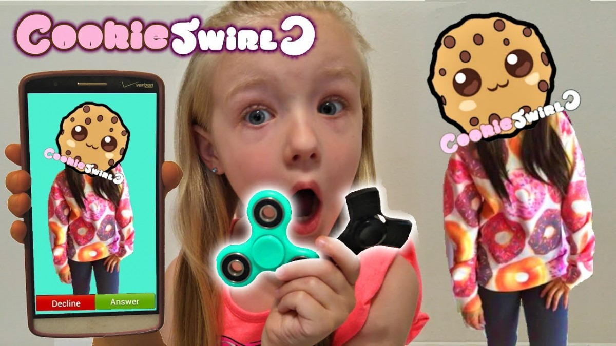 Calling Cookieswirlc  Omg  She Answered & Fidget Spinner Giveaway