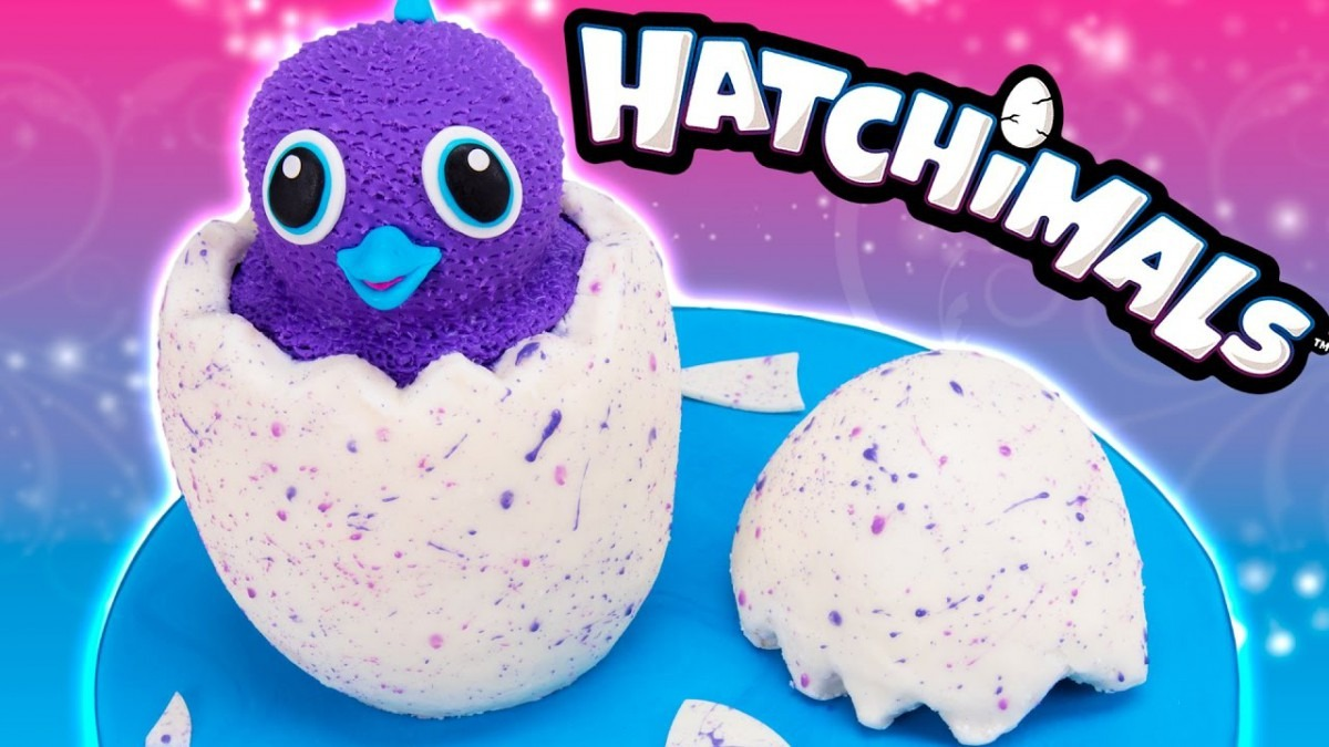 How To Make A Hatchimals Cake From Cookies Cupcakes And Cardio