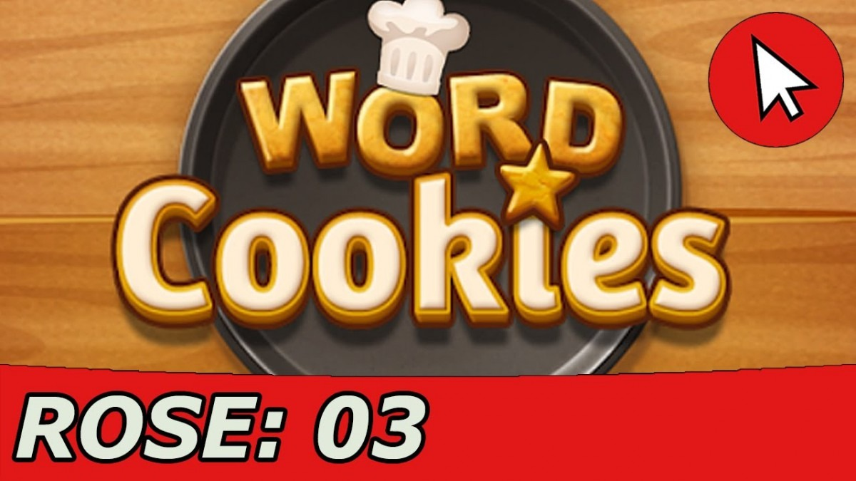 Word Cookies Rose 3 Answers Guide