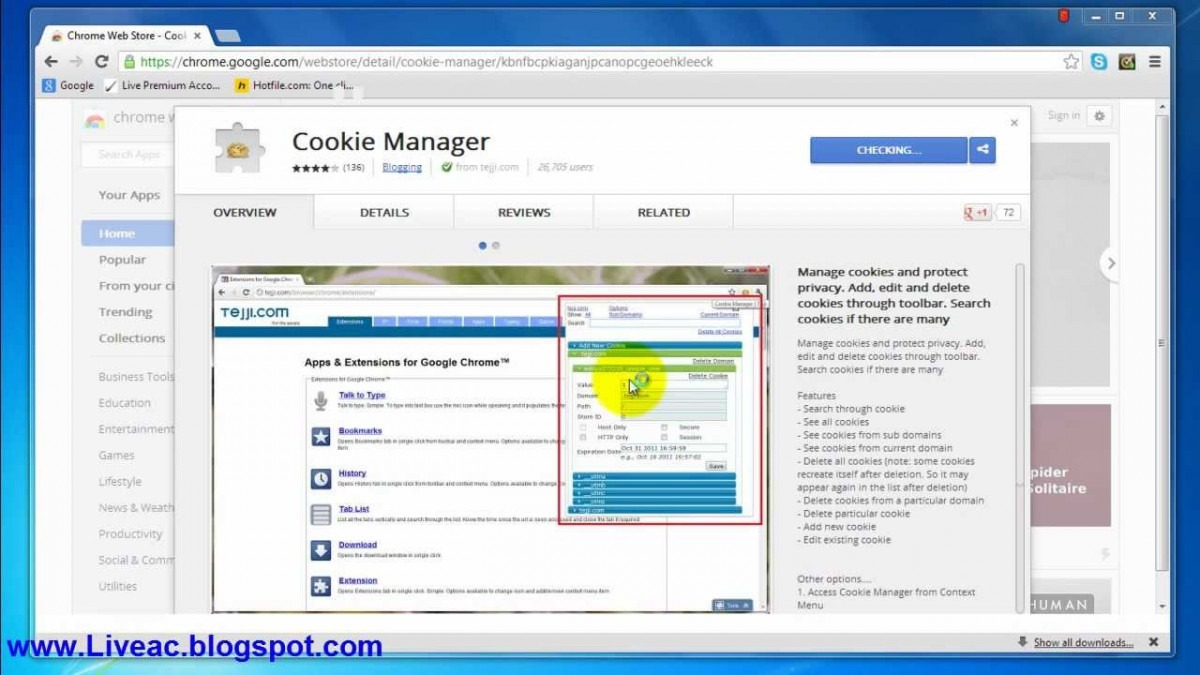 How To Use Cookies In Google Chrome With Example