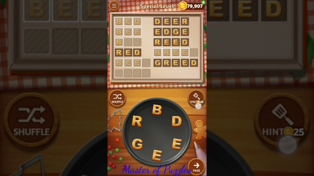Word Cookies New Banana Special Level Novice Chef Solved