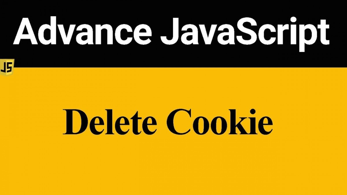 How To Delete Cookie In Javascript (hindi)
