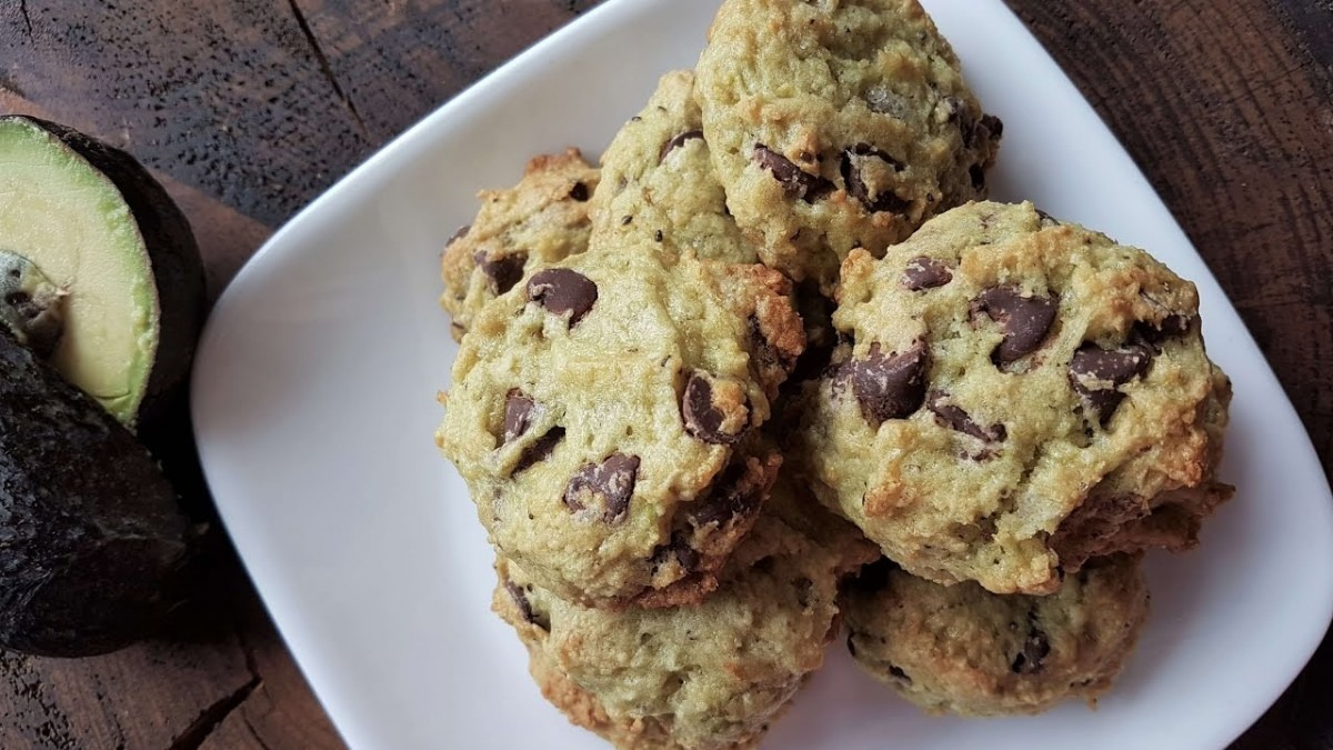 Avocado Healthy Cookies