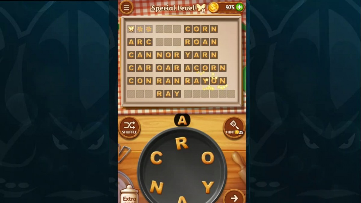 Word Cookies Walkthrough Peach Level 10 Special Level Solved
