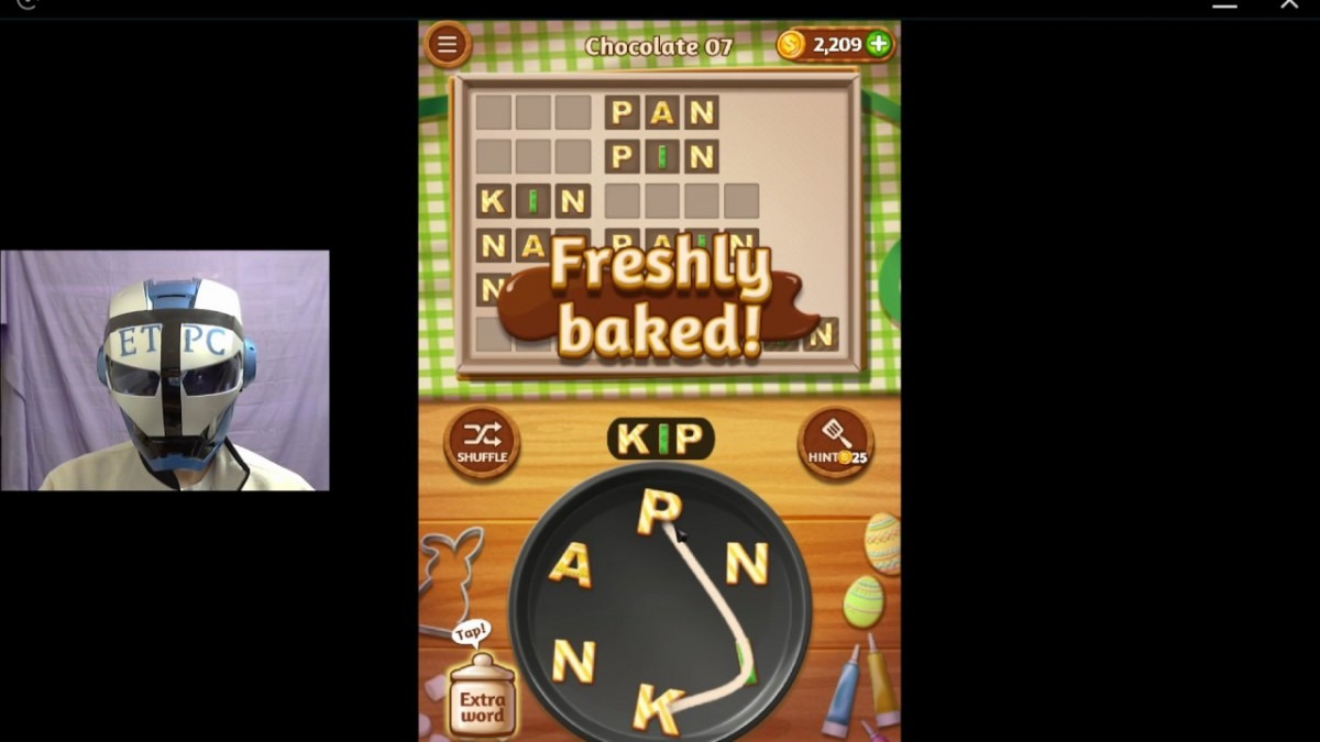 Word Cookies Chocolate 7 Solved