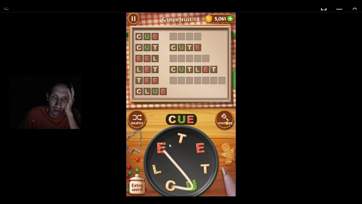 Word Cookies, Star Chef, Updated Grapefruit Level 18 Solved