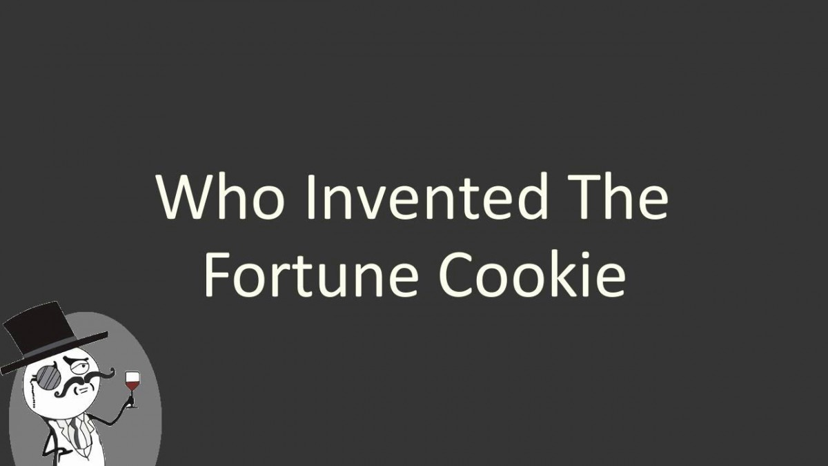 Who Invented The Fortune Cookie