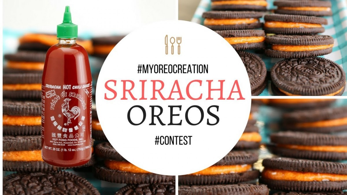 Sriracha Oreos!  Myoreocreation  Contest
