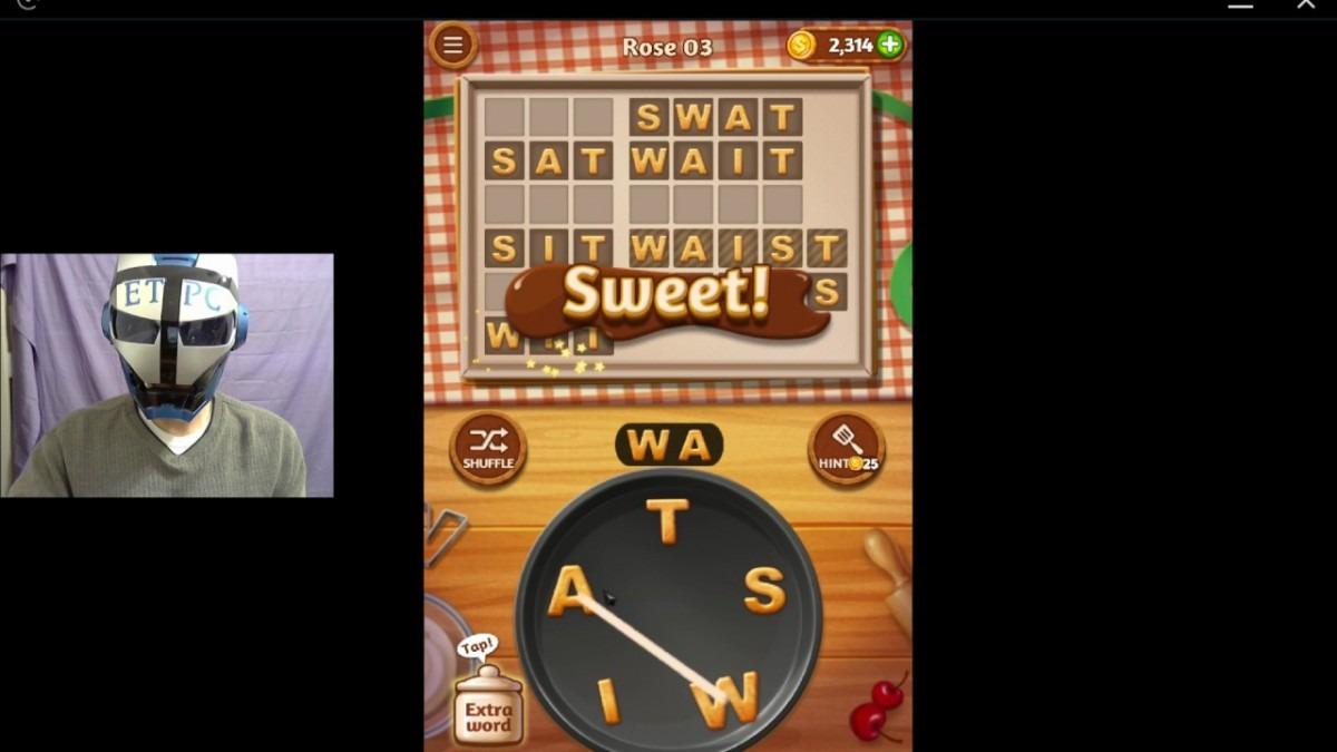 Word Cookies Rose 3 Solved