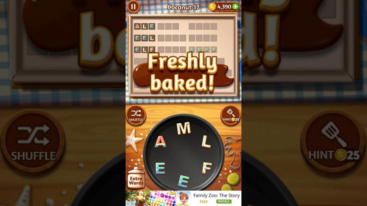 Word Cookies Coconut 17