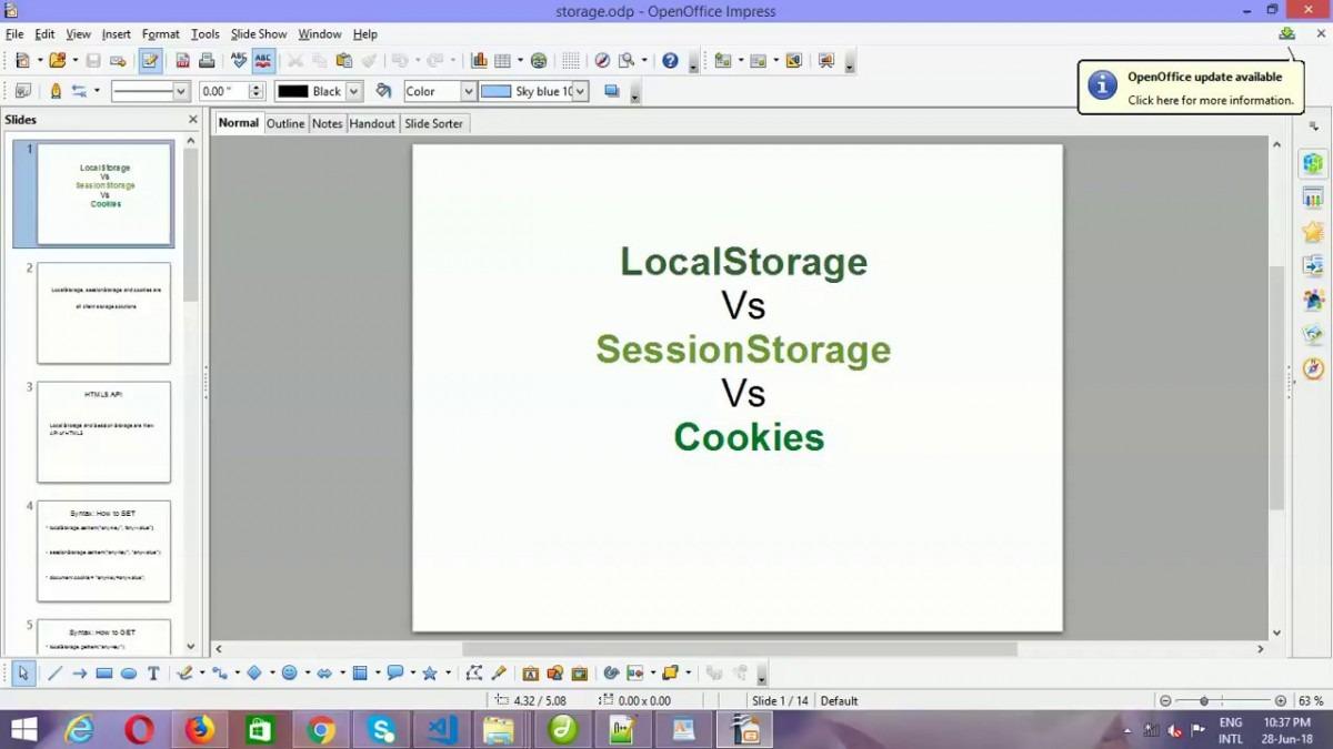 Web Storage Local Storage Vs Session Storage Vs Cookies