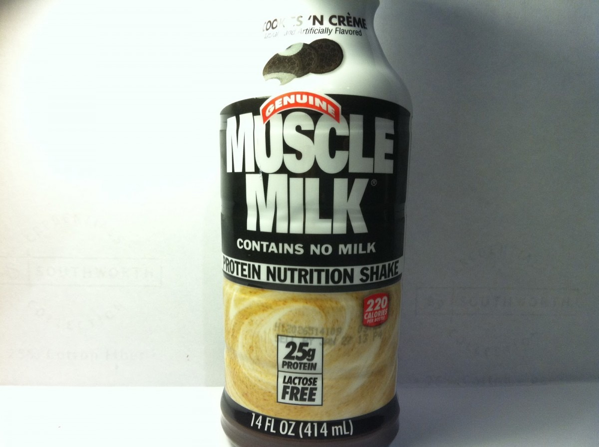 Crazy Food Dude  Review  Muscle Milk Cookies 'n Creme Protein