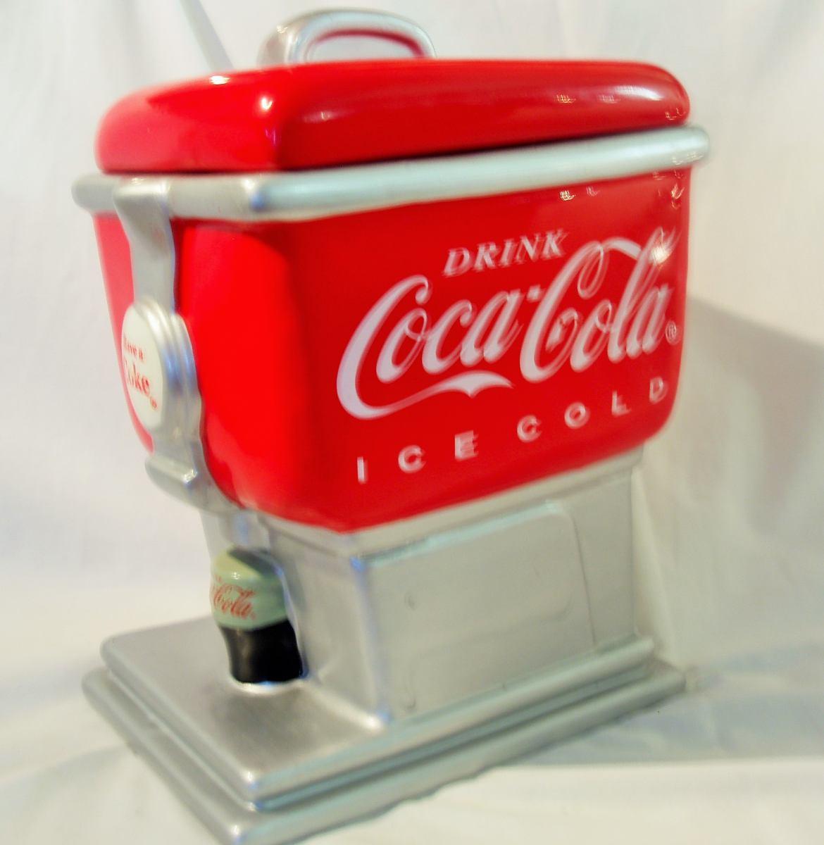 Coca Cola Soda Fountain Cookie Jar       Sold