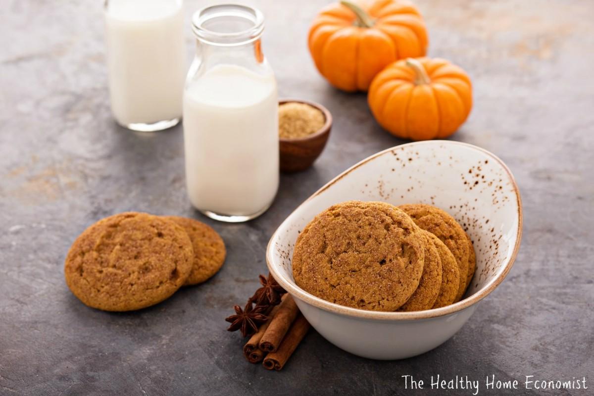 Paleo Pumpkin Cookies (soft Batch Style)