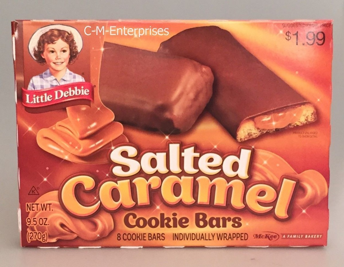 Little Debbie Salted Caramel Cookie Bars 9 5 And 48 Similar Items