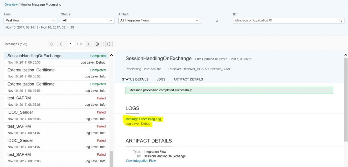 Cloud Integration – How To Configure Session Handling In