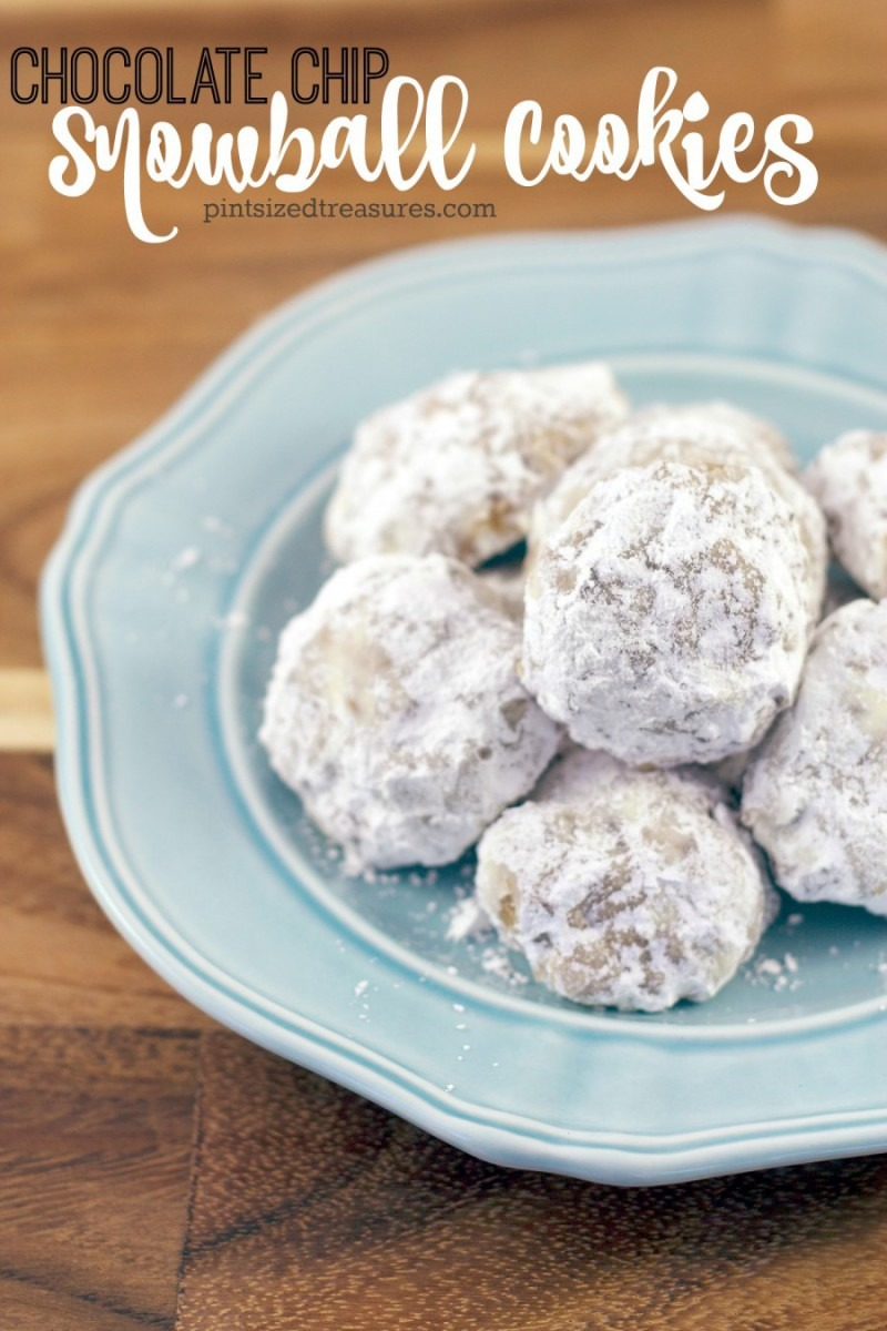 Incredibly Easy Chocolate Chip Snowball Cookies You'll Love