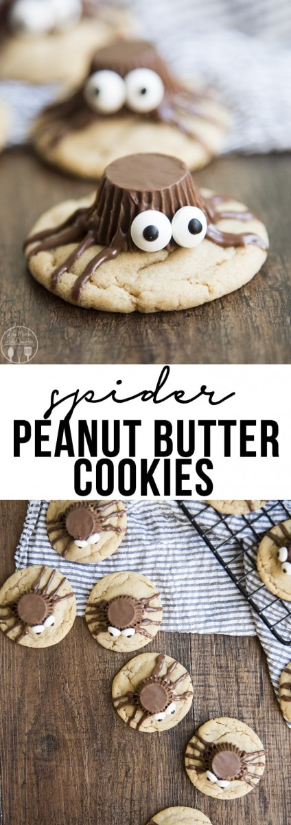 Peanut Butter Spider Cookies – Like Mother, Like Daughter
