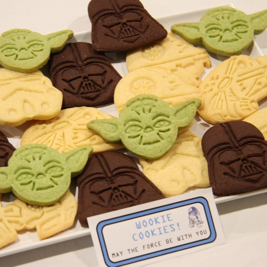 Star Wars Plunger Cookie Cutters