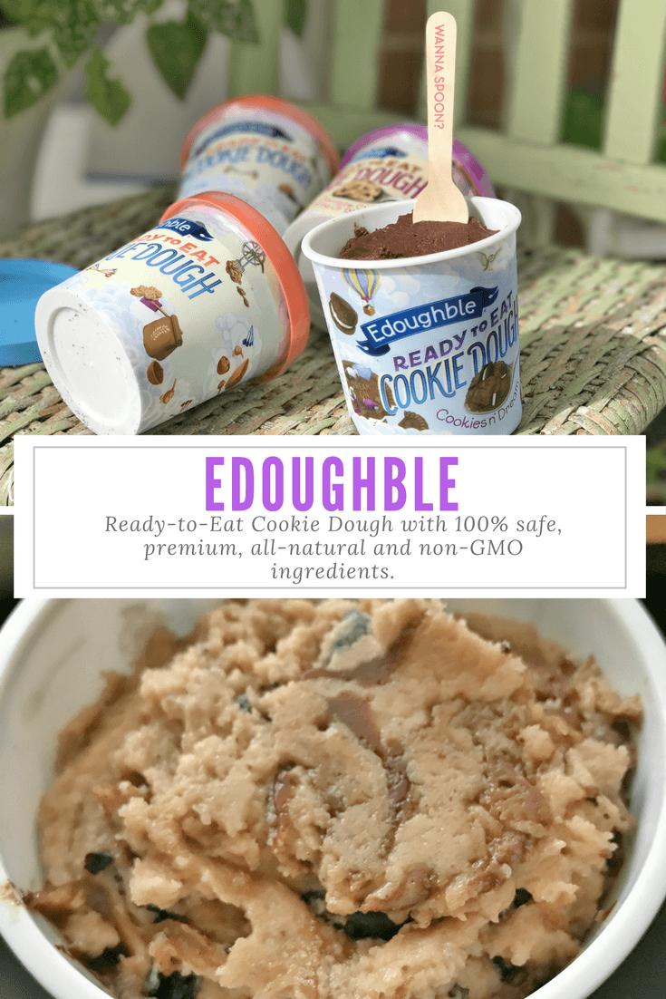 Edible Cookie Dough, It's Edoughble!