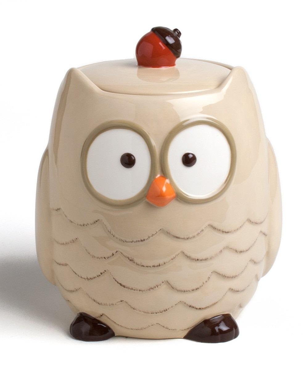 Tag Owl Cookie Jar