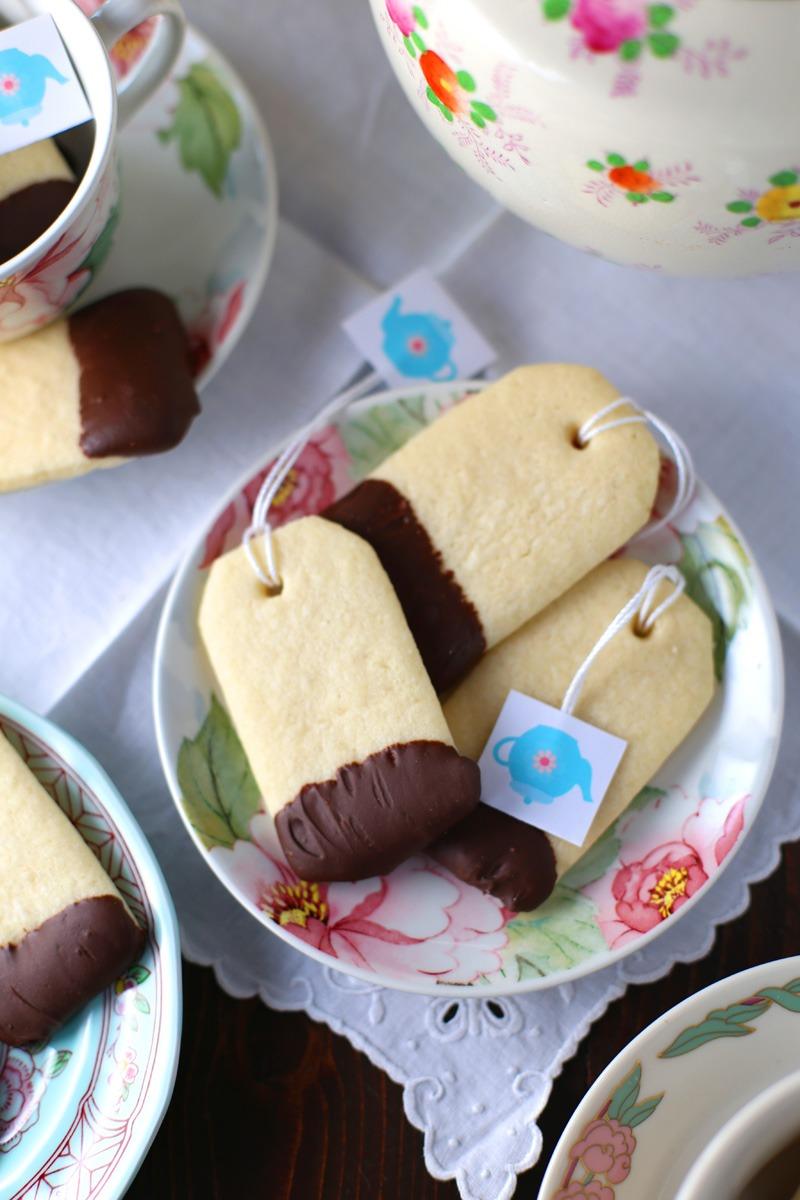 Host A Ladies Tea Party [recipe  Teabag Cookies]