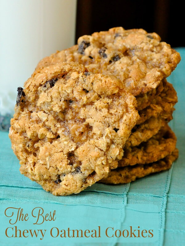 The Best Oatmeal Cookies Recipe — Dishmaps