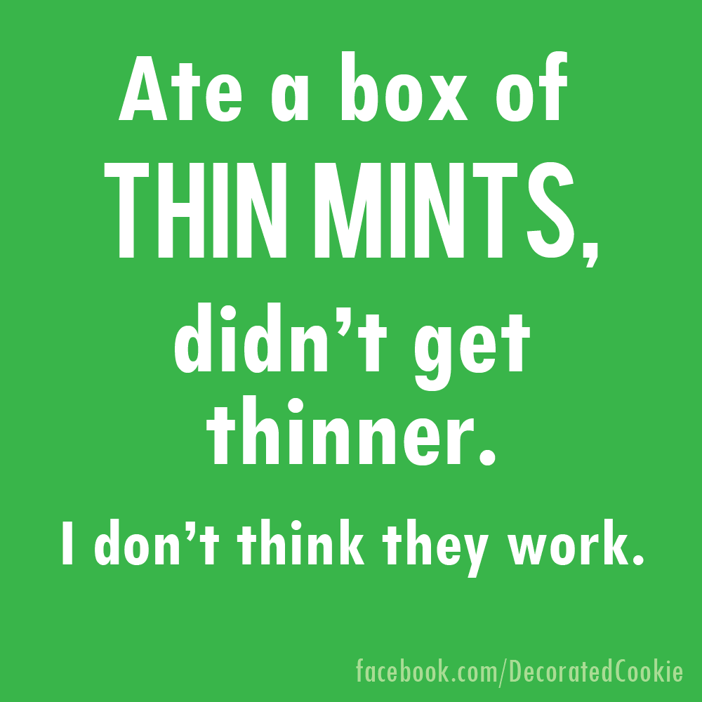 Thin Mints Girl Scout Cookie Marshmallows