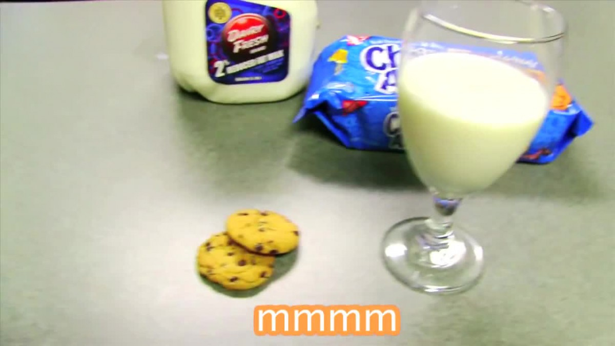 Toad Likes Milk And Cookies Video