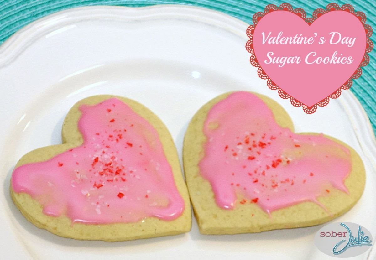 Valentine's Day Sugar Cookies Recipe