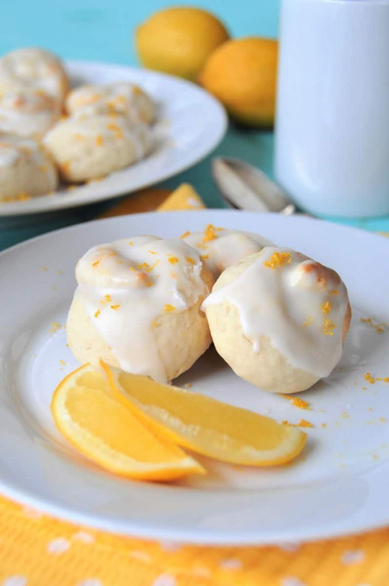 Vegan Lemon Knot Cookies